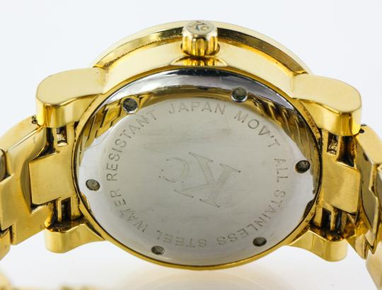 KC * KC Bling Out Dial Gold Tone Watch Image 1