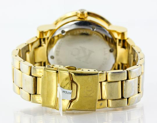 KC * KC Bling Out Dial Gold Tone Watch Image 2