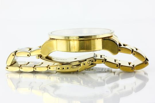 KC * KC Bling Out Dial Gold Tone Watch Image 4