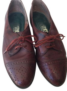 The Leather Collection Oxfords Oxford Rust Brown Flats