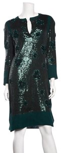 Valentino short dress Hunter Green on Tradesy
