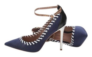 J.W. Anderson Stiletto Baseball Sporty Navy, white, black, cream Pumps