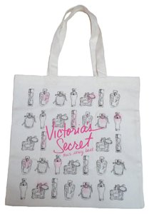 Victoria's Secret Beach Book Tote in White
