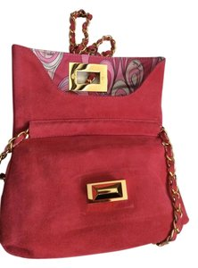 Emilio Pucci Suede Shoulder Bag