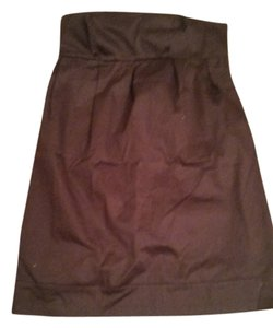 Liz Lange Maternity Liz Lange Maternity for Target -Chocolate brown strapless dress w/ Sheen