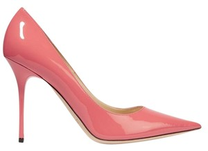 Jimmy Choo Abel Patent Leather Pink Pumps