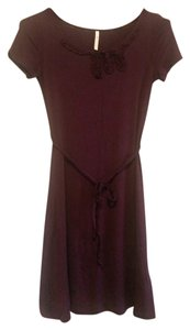 Modcloth short dress Purple Tie on Tradesy