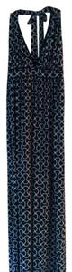 Navy Maxi Dress by Tart Collections Halter Sexy Maxi