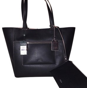 Lauren Ralph Lauren Tote in Black