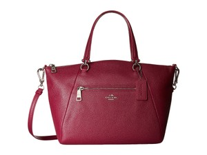 Coach Prairie Leather Satchel Shoulder Bag