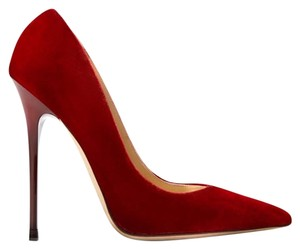 Jimmy Choo Anouk Red Pumps