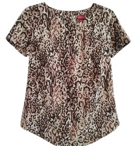 Merona Top Brown