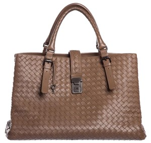 Bottega Veneta Satchel in Light Brown