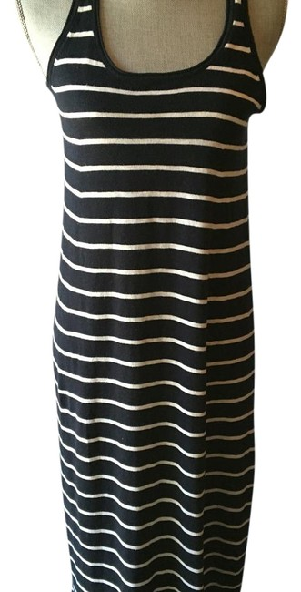 Item - Black and White Tank Long Casual Maxi Dress Size 6 (S)