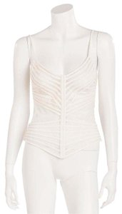 La Perla Top Off White