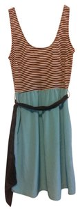 Modcloth short dress Sash Striped on Tradesy