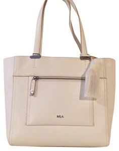 Lauren Ralph Lauren Tote in White