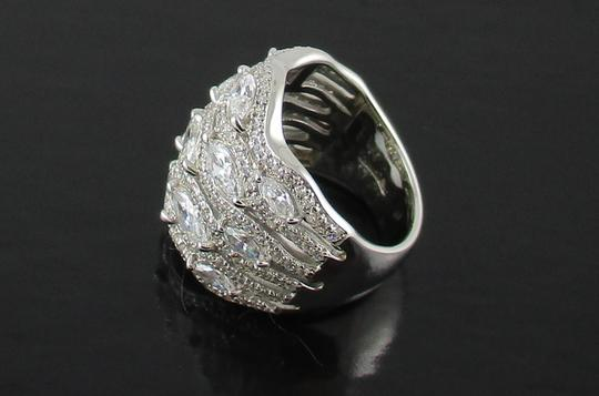 Jean Dousset Jean Dousset 5.05ct Absolute Marquise and Pave' Wide Band Ring Image 2