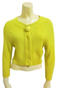 Tracy Reese Cashmere Ribbed Crop Sweater