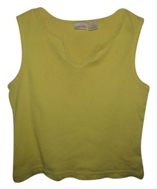 Preload https://item1.tradesy.com/images/cherokee-yellow-tank-topcami-size-8-m-1684950-0-0.jpg?width=400&height=650