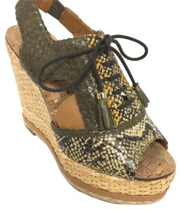 Sam Edelman Hunter green Wedges