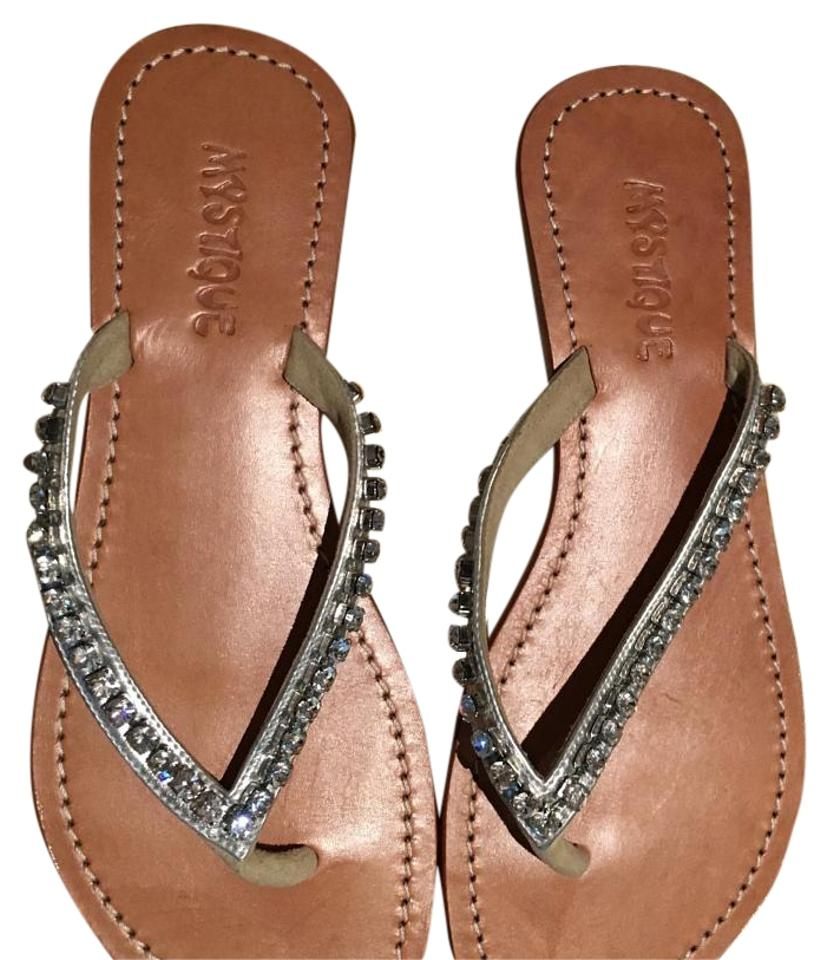 WOMENS with Silver with WOMENS Rhinestones Sandals quality products 39e611