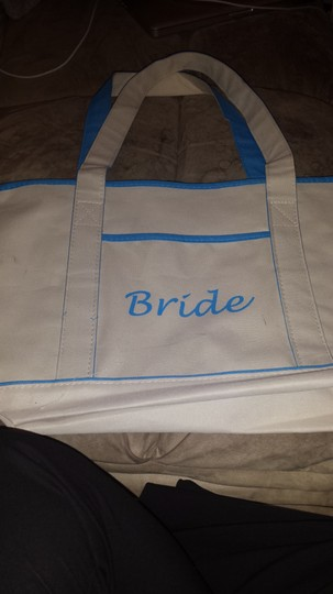Preload https://img-static.tradesy.com/item/1684971/cream-and-blue-bride-beach-bag-0-0-540-540.jpg