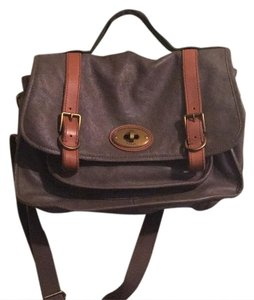 Fossil Gray Messenger Bag