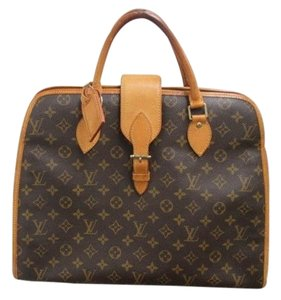 Louis Vuitton Monogram Rivoli Satchel in Brown