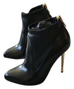 Tom Ford Stiletto Leather Black Pumps