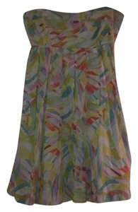 Anthropologie short dress Multicolored on Tradesy
