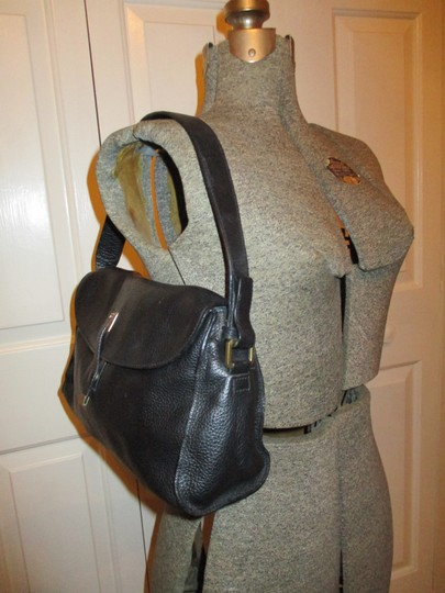 Adrienne Vittadini Leather Shoulder Bag