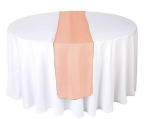 Coral 13 Table Runners Reception Decoration
