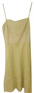 Ann Taylor short dress Light Green Linen on Tradesy
