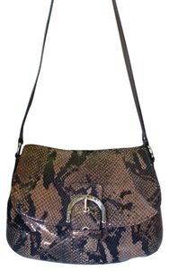 Coach Snake Exotic Party Date Cross Body Bag