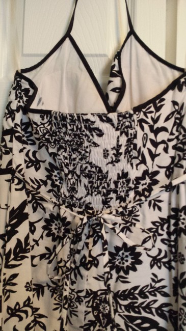 Speechless short dress Black and White Halter Summer on Tradesy