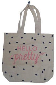 Old Navy Tote in Cream/Pink