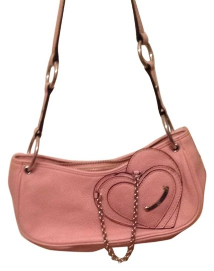 Juicy Couture Chain Cute Hearts Shoulder Bag