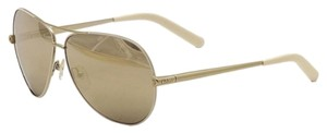 Chloé New Chloe sunglasses with case CE107S 756 Gold White/Brown