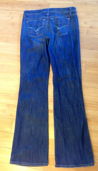 JOE'S Crystal Boot Cut Jeans-Distressed