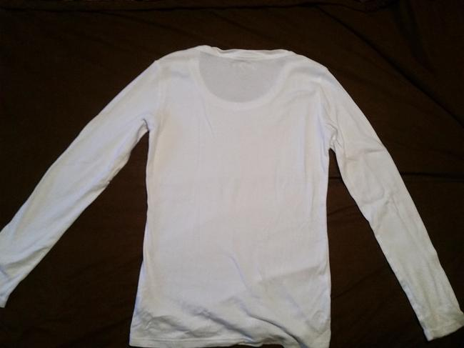 Gander Mountain New Without Tags Never Worn 100% Cotton Longsleeve Long Sleeve T Shirt White