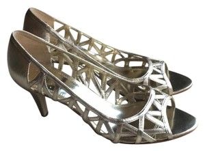 Enzo Angiolini Silver/Gold Formal
