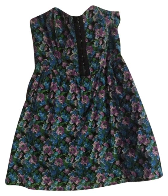 Material Girl (by Madonna) short dress Floral Pattern Macys Sundress on Tradesy
