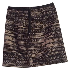H&M Pencil Mini Mini Skirt Black and white