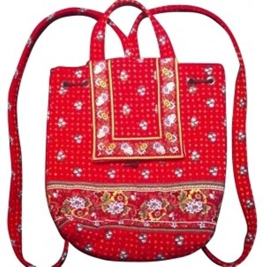 Preload https://img-static.tradesy.com/item/16857/vera-bradley-red-floral-backpack-0-0-540-540.jpg