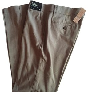 New York & Company Straight Pants Champaigne