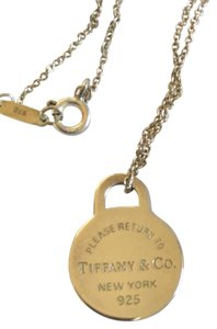 Tiffany & Co. Tiffany & Co. Circle Pendant on a Chain