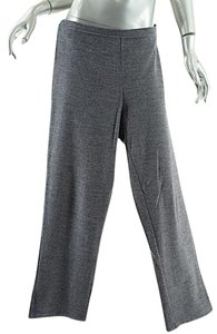 Eileen Fisher Heather Gray Relaxed Pants Grey