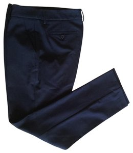 New York & Company Straight Pants Blue