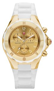 Michele Brand New Jelly Bean White/ Gold Watch